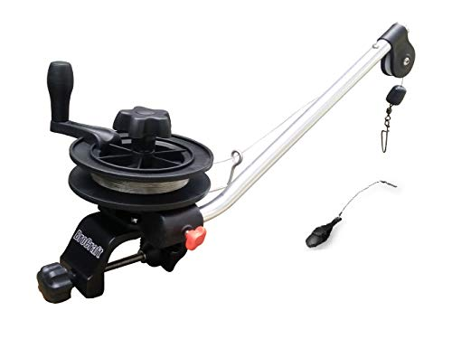 Brocraft Clamp On Minin Manual Downrigge/Lake Troller Manual Downrigger/Clamp On Lake Downrigger