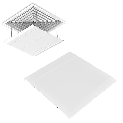 xiji Deflettore del Vento dell'Aria condizionata, deflettore del condizionatore d'Aria in Materiale ABS Amichevole 3 X per L'Ufficio del Soggiorno dello Studio della Camera da Letto