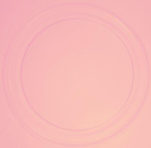 Mikrowellenteller / Drehteller / Glasteller für Mikrowelle # ersetzt Media Gourmet Wave Mikrowellenteller # Durchmesser Ø 36 cm / 360 mm # Ersatzteller # Ersatzteil für die Mikrowelle # Ersatz-Drehteller # OHNE Drehring # OHNE Drehkreuz # OHNE Mitnehmer