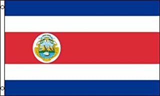 Best Flags Costa Rica 3x5ft Poly Flag, Multicolor