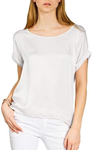CASPAR Fashion - Camicia -  donna grigio chiaro XL/XXL