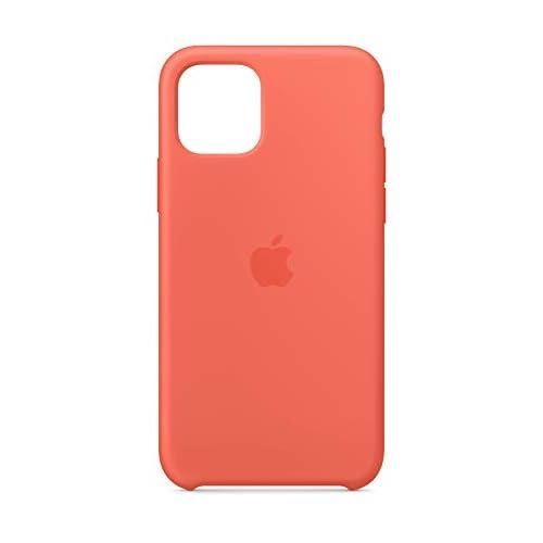 Apple Custodia in Silicone (per iPhone 11 Pro) - Mandarancio (Arancione)