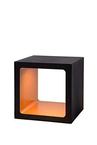 Lucide XIO - Lampe De Table - LED Dim. - 1x6W 3000K - IP40 - Noir