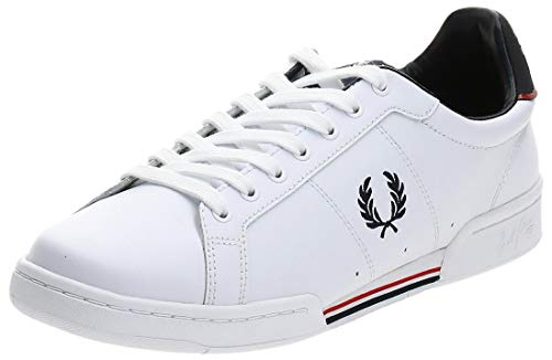 Fred Perry B722 Leather White 43