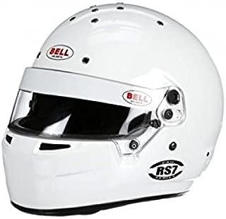 Bell Racing RS7 KART WHITE M (58-59) K2015 V.15 BRUSA HELMET