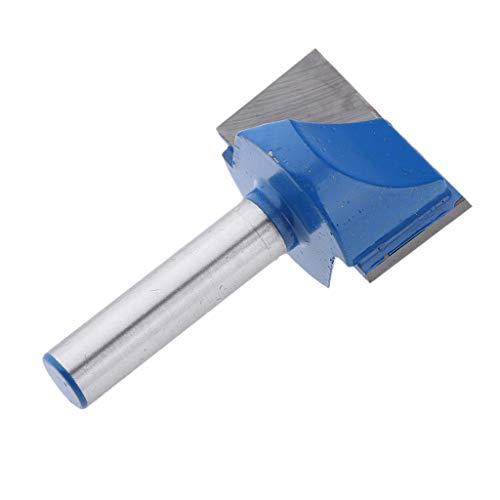 HomeDecTime Nutfräser Fräser zweischneidig Holzfräser HM Schaftfräser 8mm Schaft, Schneiddurchmesser 10mm - 32mm Auswählbar - 8x28mm
