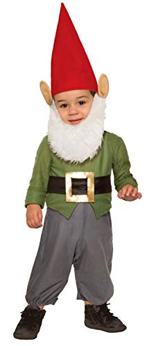 Forum Novelties unisex baby Garden Gnome Infant and Toddler Costumes, As Shown, Toddler US