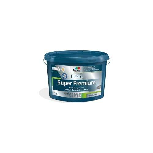 Diesco Super Premium Innenfarbe versch. Gebinde Wandfarbe Innen Farbe (1 Liter)
