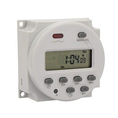 Relé semanal manual / automático 1s ~ 168h, interruptor de temporizador mecánico...