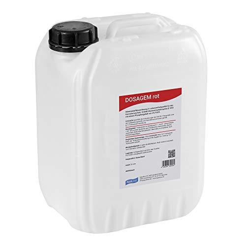 DOSAGEM rot Dosierlösung 10 Liter (Alternative zu Grünbeck EXADOS rot)