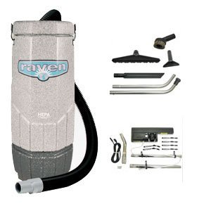 Why Should You Buy Sandia 70-1003 Avenger Raven, Backpack Vacuum with 5 Piece Standard Tool Kit and ...