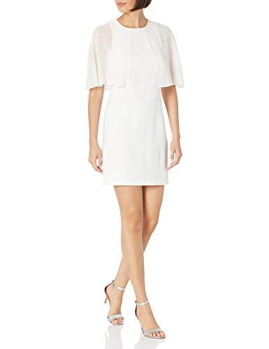 Halston Heritage Women's Dress, Chalk, 8