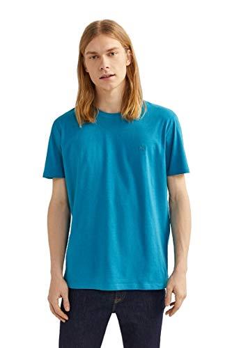Springfield Básica Logo Tree Camiseta, Turquesa (Turquoise 88), S (Tamaño del Fabricante: S) para Hombre