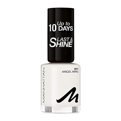 Manhattan Last und Shine Nagellack, Nr.11 Angel Wing, 8 ml
