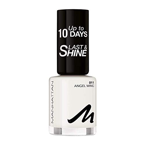 Manhattan Last und Shine Nagellack, Nr.11 Angel Wing, 1er Pack (1 X 10 ml)