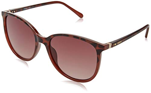 Fossil FOS 3099/S gafas de sol, DKHV BRGN, 55 para Mujer
