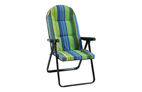 Alco m283231 – stoel Relax 40 x 20 mm staal groen gestreept 777 voor-0036
