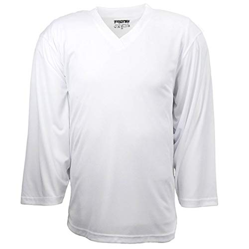 TronX Hockey Practice Jersey (White Adult G)