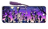 3D Dancing Skeleton'Moonlight Boogie' Bookmark - by Artgame