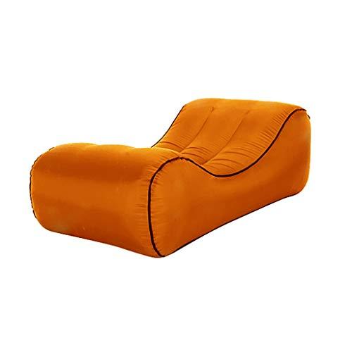 Factorys Aufblasbare Liege Air Sofa Hängematte - tragbar, wasserdicht und luftdicht - für Camping im Freien, Picknicks, Pool, Reisen, Wandern, Strand