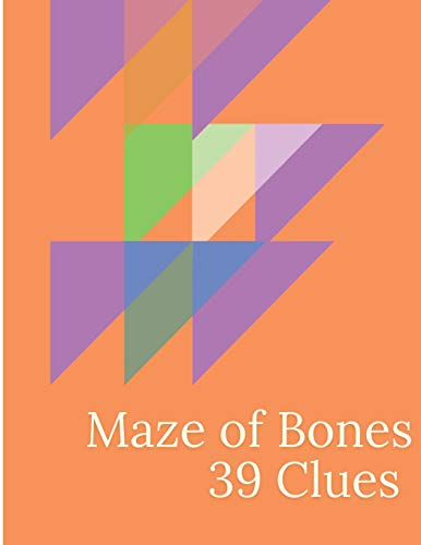 Maze of Bone 39 Clues: A puzzle book for Kids or children to increase their creativities and keep them engaged in passing time to develop their logical skills