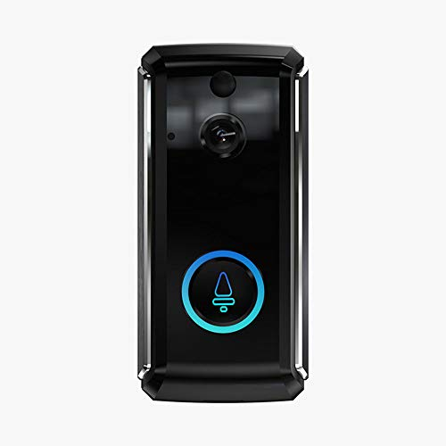 LiYuJ video deurbel met camera en draadloze radio, video deurbel met nachtzicht bewegingsmelder en twee manieren audio, 166 graden groothoek 720P HD video deurintercom