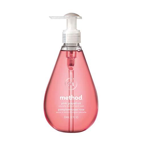 メソッド(Method)液体 ハンドソープ ジェルピンクグレープフルーツの香り本体354ml×1本