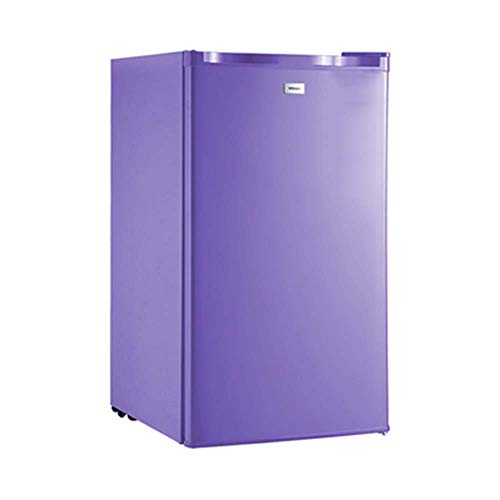Car Refrigerator enkele deur koelkast compacte vriezer voor campers/apotheken/slaapzalen energiebesparende mini-vriezer - verstelbare glazen standaard voor kleine drankopslag
