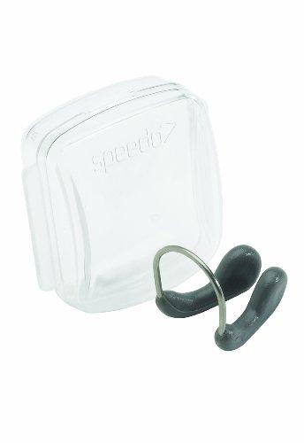 Speedo Unisex Swim Training Nose Clip Competitive , Charcoal