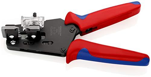 KNIPEX Präzisions-Abisolierzange mit Formmessern (195 mm) 12 12 11