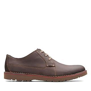 Clarks Vargo Plain, Zapatos de Cordones Derby, Marrón (Dark Brown Leather-), 42 EU (B07B9BYZ15) | Amazon price tracker / tracking, Amazon price history charts, Amazon price watches, Amazon price drop alerts