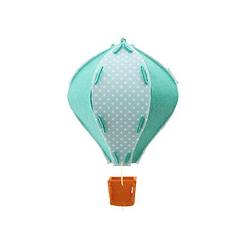 HD-Windlichter 3D-Laterne Luftballon Papierlaterne Kindergeburtstag-Party Hochzeitsdeko Innenministerium-Schreibtisch-Verzierung Spielzeug-Geschenk (Color : Green)