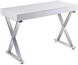 Chrome Schreibtisch