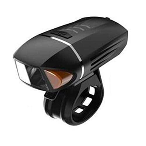 Bicicletta / mountain bike Faro della luce della bicicletta USB ricaricabile con la luce del corno Faro della mountain bike impermeabile del segnale di direzione del segnale di direzione del segnale d