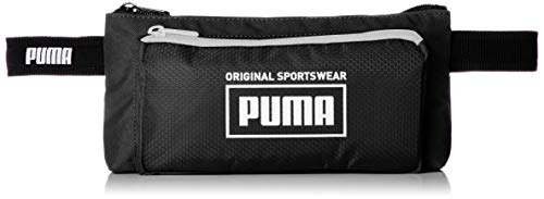 PUMA Sole Waist Bag Riñonera, Unisex-Adult, Black, OSFA