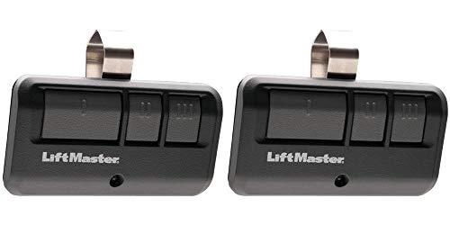 LiftMaster 893LM 3-Button Garage Door Opener Remote Control, Dark Gray Pack of 2