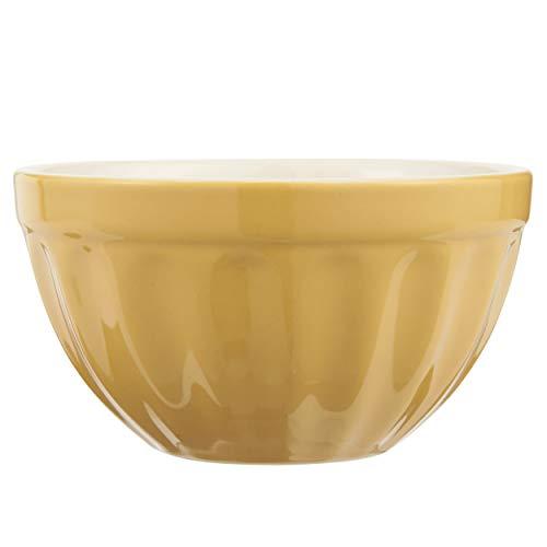 IB Laursen Müslischale MYNTE Mustard gelb für 300ml H. 7cm D. 13cm Steingut