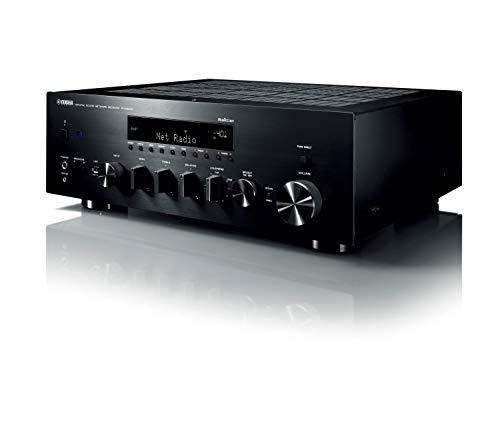 Yamaha r-n803d 100W 2.0Channels Stereo Black AV Receiver–AV Receivers (100W, 2.0Channels, Stereo, 220W, 140W, 0.019{2c4ecdd71d6282f0d4ea9cd135e385d6b715f4626117af715089cf481f7d2d74})