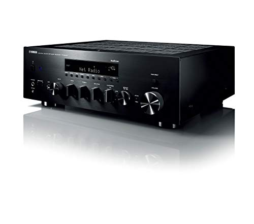 Yamaha r-n803d 100W 2.0Channels Stereo Black AV Receiver–AV Receivers (100W, 2.0Channels, Stereo, 220W, 140W, 0.019{bad5af849f3f272a92bce713f80a9cbc0b679df749bdd32613e63ee61cffaafd})