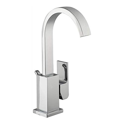 Glacier Bay HD67524W-6101 Farrington Single Hole Single-Handle High-Arc Bathroom Faucet in Chrome