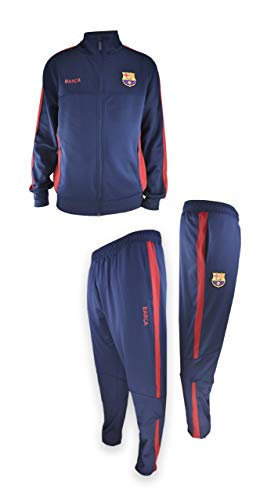Chándal Full nº 9 FC. Barcelona - Producto Autorizado con Licencia - 100% Poliéster- Talla XL