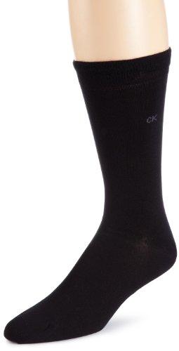 Calvin Klein ECB212 Calcetines, OPACAS, Negro 000, 40-41 para Hombre