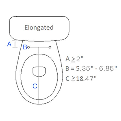Saniwise Toilet Seat, Elongated Advanced Bidet...