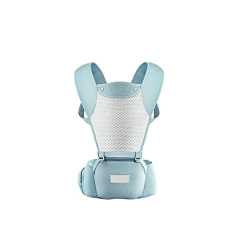 DYB Mochila Portabebe Ergonómico Recien Nacido, Malla Transpirable 3D,Capucha de Dormir,para recién Nacidos y bebés(3-48 Meses), Carga máxima 20 kg,Múltiples Posiciones Paseo