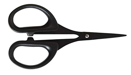 Artemio RESC611 - Tijeras de teflón, color negro, 7 x 1 x 15 cm