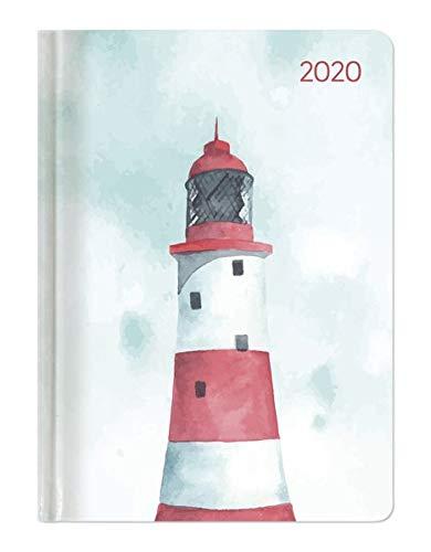 Ladytimer Pastel Lighthouse 2020 - Leuchtturm - Taschenkalender A6 (11 x 15) - Weekly - 192 Seiten - Notizbuch - Terminplaner