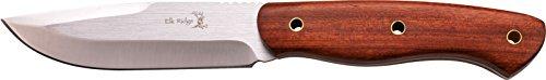 Elk Ridge ER-544 Serie, Taschenmesser PALISANDER Griff, 12,07 cm Outdoormesser ROSTFREI Feststehende Klinge für Angeln/ Camping, leichtes 399gr Messer