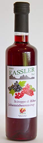 Johannisbeer Sirup 490 ml. - Fassler Hof Suedtirol