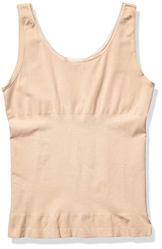 Yummie Women's Seamless Reversible Shapewear Tank top, Frappe, S/M