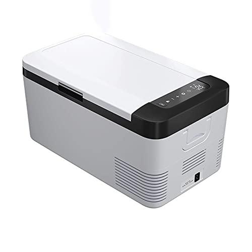 QSWL Congelador portátil congelador 12 / 24V refrigerador de refrigerador congelador, 12/2 4V DC 110~240V AC, Mini refrigerador, Adecuado para la Familia al Aire Libre.